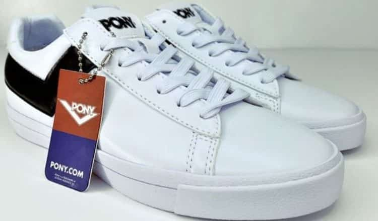 Pony Classic Low Leather Trainers