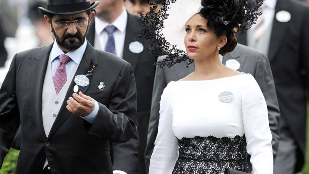 Rashid Al maktoum and Princess Salama in 1979. Una mirada a la boda más extravagante de la historia
