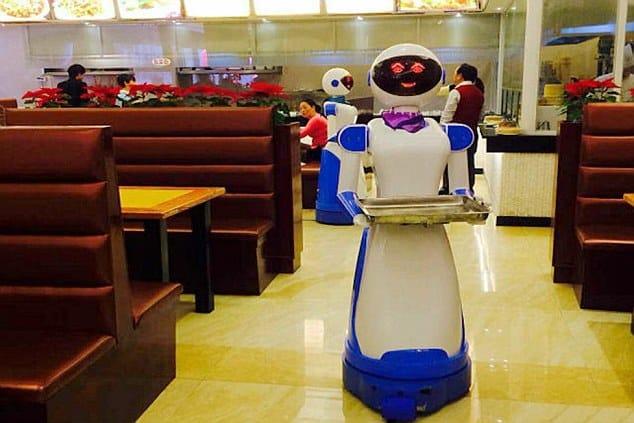 Robot Waiter Cinco nuevas tecnologías asombrosas en la industria de los restaurantes