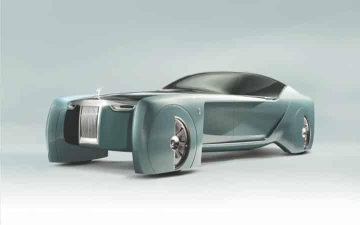 Rolls Royce 103EX Concept Una mirada detallada al concepto Rolls Royce 103EX