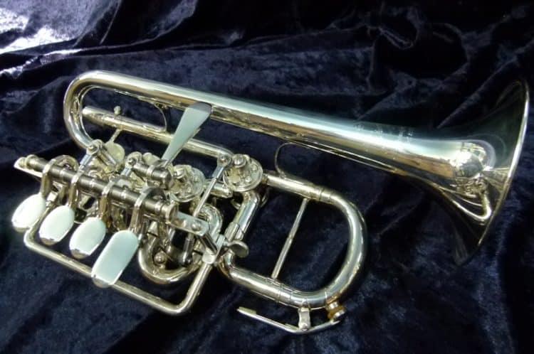 Scherzer Meister Johannes válvula rotativa trompeta piccolo 8111 Top 5 trompetas piccolo en el mercado hoy