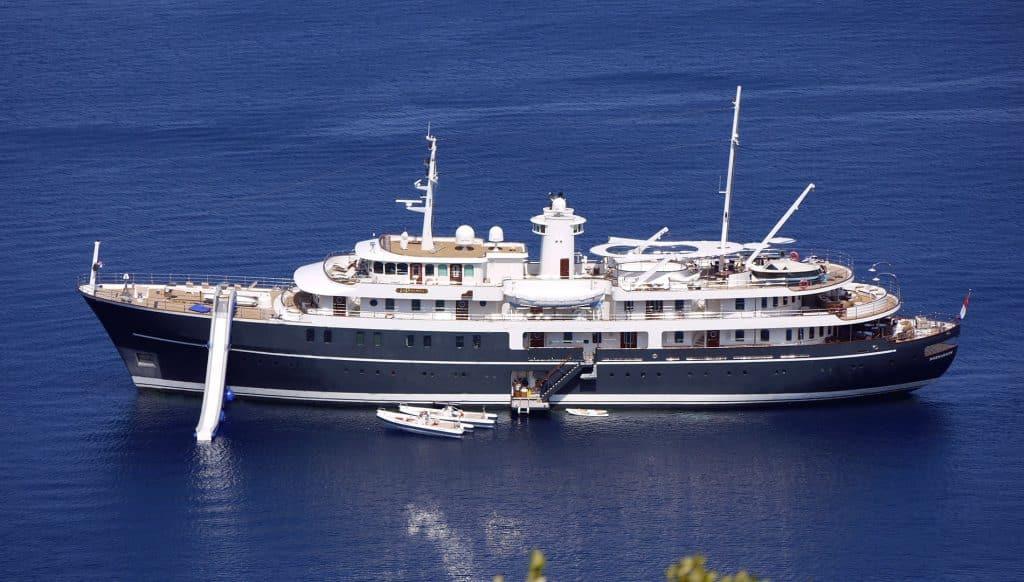 Sherakhan Yacht Uno de los mejores yates de alquiler del mundo