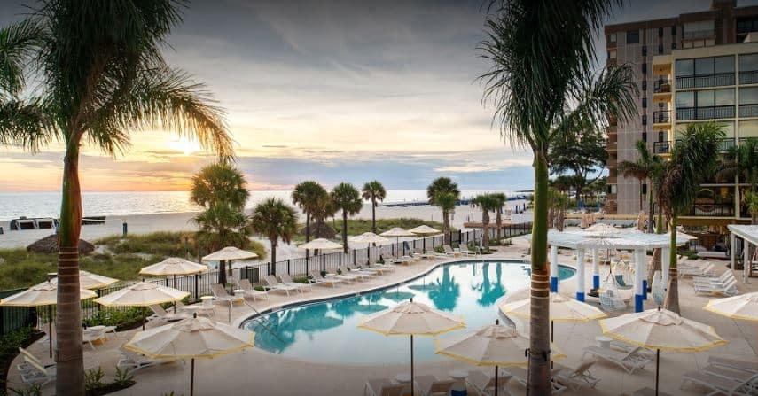 Sirata Beach Resort Cómo una pareja solo gastó $ 376 en vacaciones, incluidos pasajes aéreos y hoteles