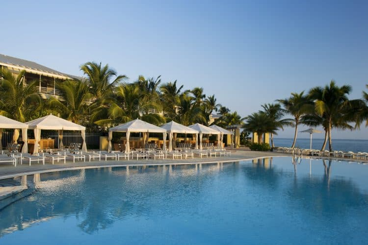 Resort de la isla de los mares del sur