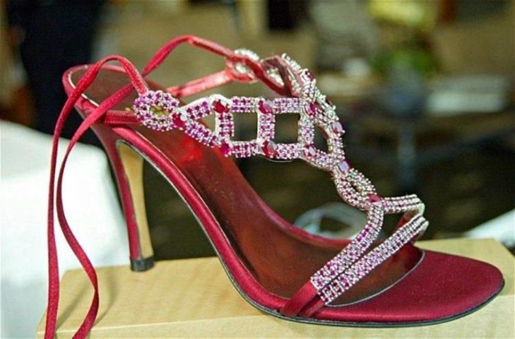 Stuart Weitzman Wizard of Oz Ruby Stilettos Los 20 zapatos más caros del mundo
