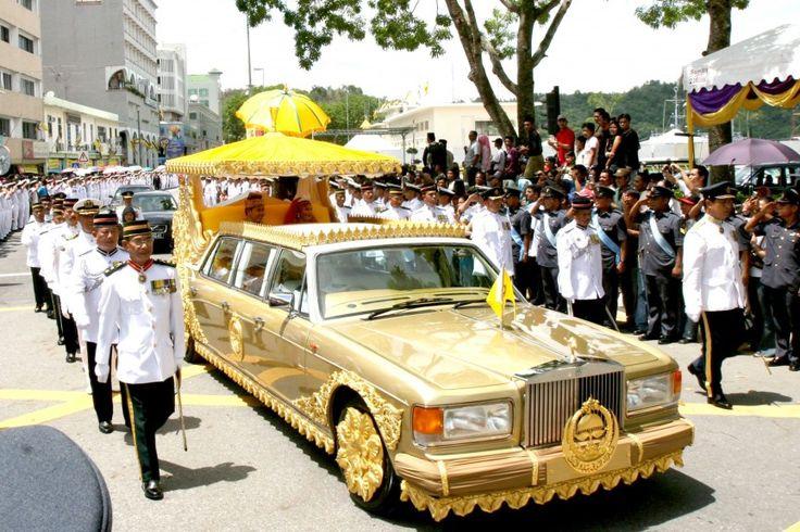 Rolls Royce Silver Spur Limo del sultán de Brunei
