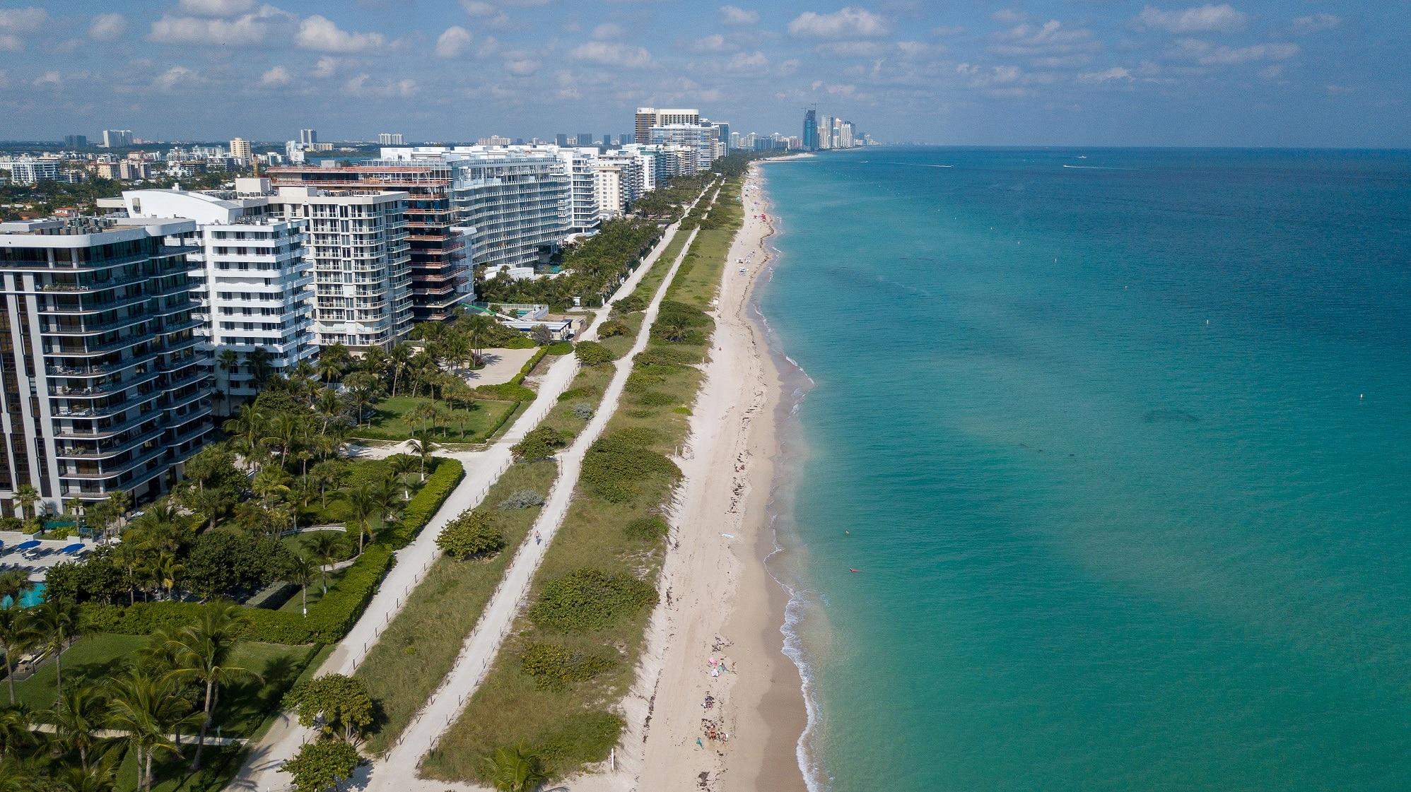 Surfside .Las 20 ciudades más ricas de Florida 2021