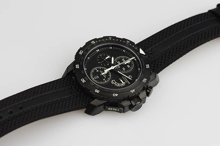 Reloj cronógrafo mecánico Swiss Army para hombre Alpnach