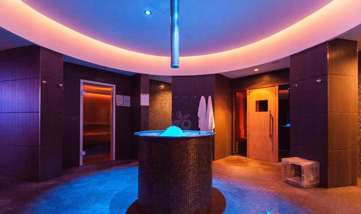 Thalassio Spa en el Grand Hotel Alassio, Liguria