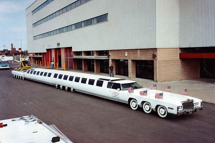 The American Dream Las 10 limusinas más exageradas del mundo en este momento