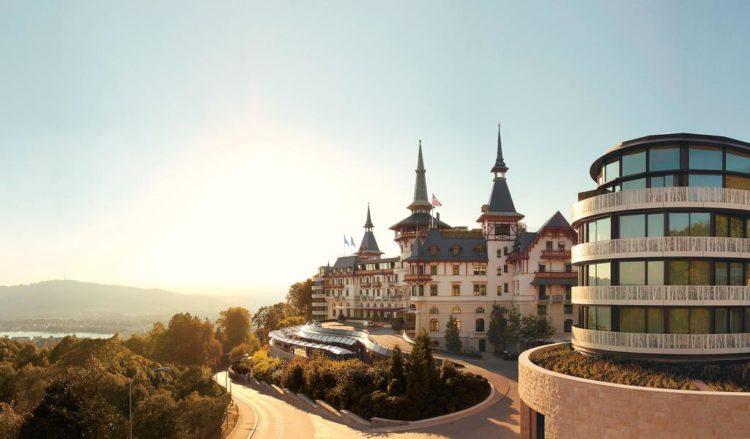 Los cinco mejores hoteles de lujo Dolder Grand en Zúrich, Suiza