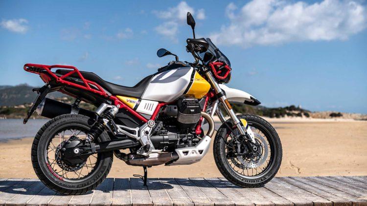 El Moto Guzzi V85 TT 1