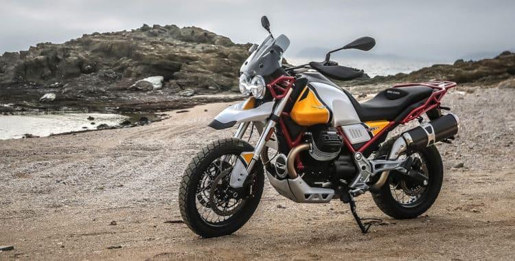 El Moto Guzzi V85 TT 4