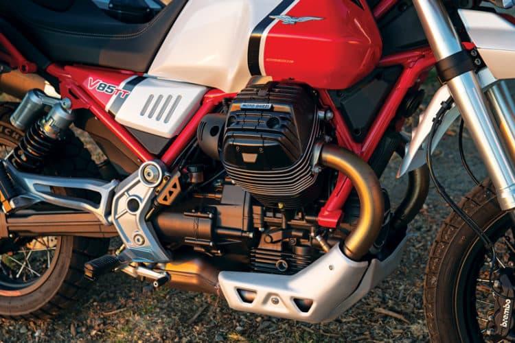El Moto Guzzi V85 TT 5