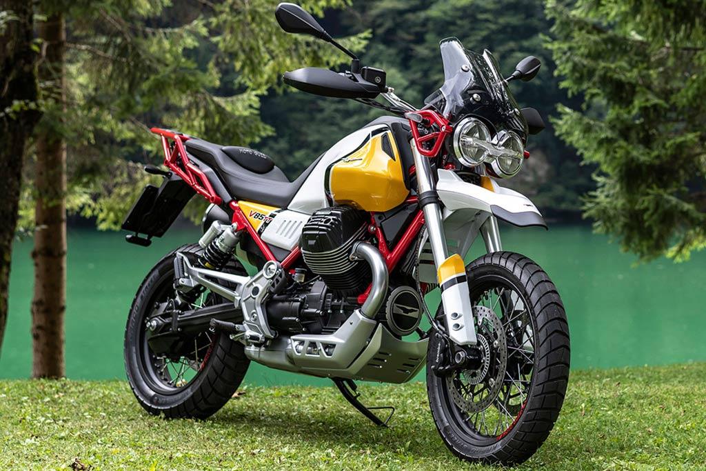 The Moto Guzzi V85 TT Una mirada más cercana al Moto Guzzi V85 TT