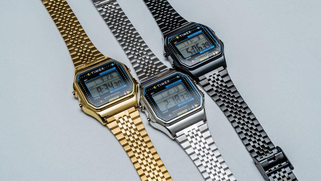Timex T80 X PAC MAN Watch Una mirada más cercana al reloj Timex T80 X PAC-MAN