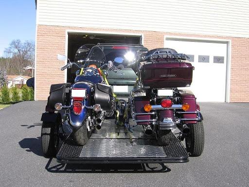 Remolque de motocicleta Trinity MT3