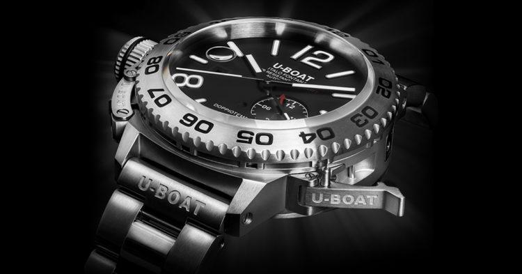 U-Boat Doppio Tempo Auto Bracelet Watch
