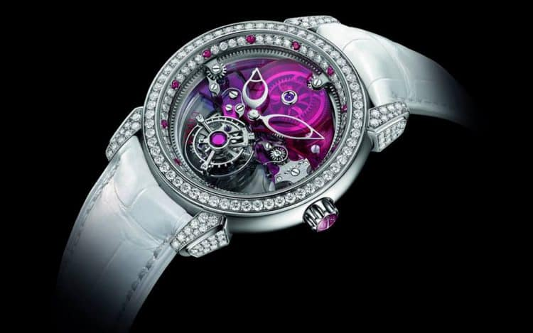 Ulysse Nardin ha presentado un nuevo modelo de reloj femenino de la colección Tourbillon