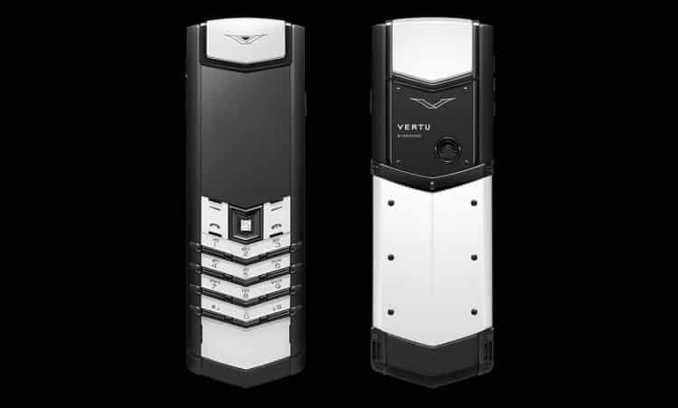 Vertu Black and White