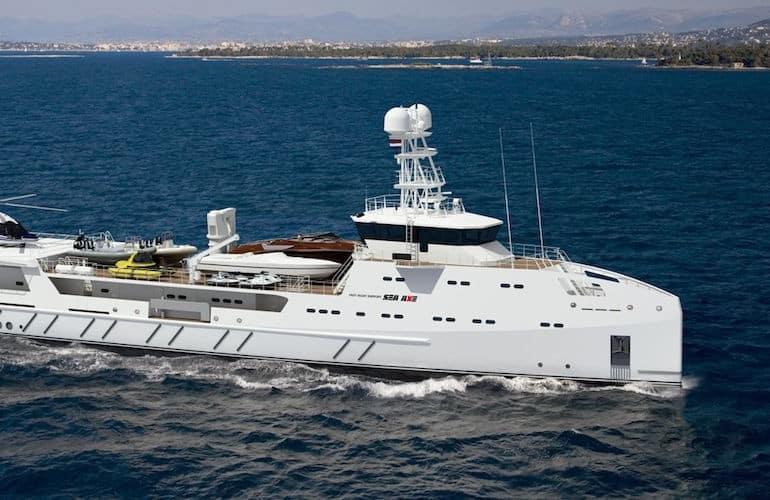 amels damen garcon yacht support vessel 2 Cinco de los mejores barcos de apoyo para yates de Damen