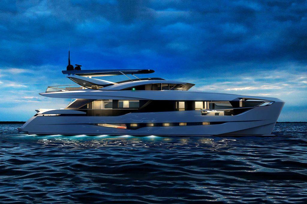 dominator ilumen 26M yacht exterior 02 Los cinco mejores diseños de yates Dominator