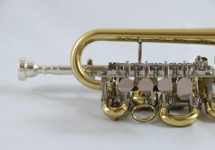 Elite Rotary Valve Piccolo Trumpet 3 Las cinco mejores trompetas piccolo del mercado actual