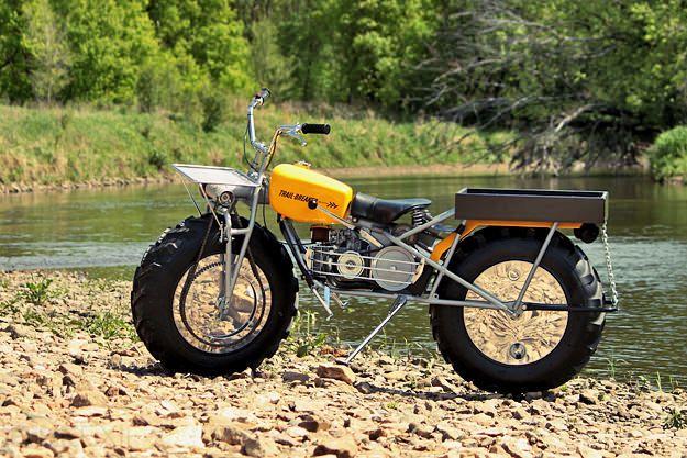 Rokon Trail-Breaker: the two-wheel-drive motorcycle |  Motorcycles, exif motorcycles and cool motorcycles