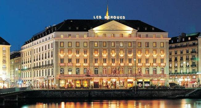 four seasons hotel des bergues geneva 1 Los cinco mejores hoteles de lujo en Ginebra, Suiza