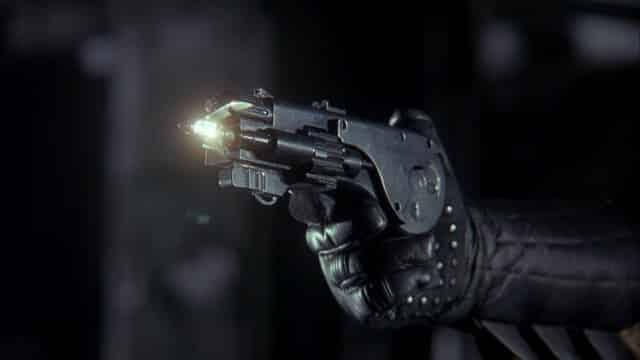 pistola de garfio
