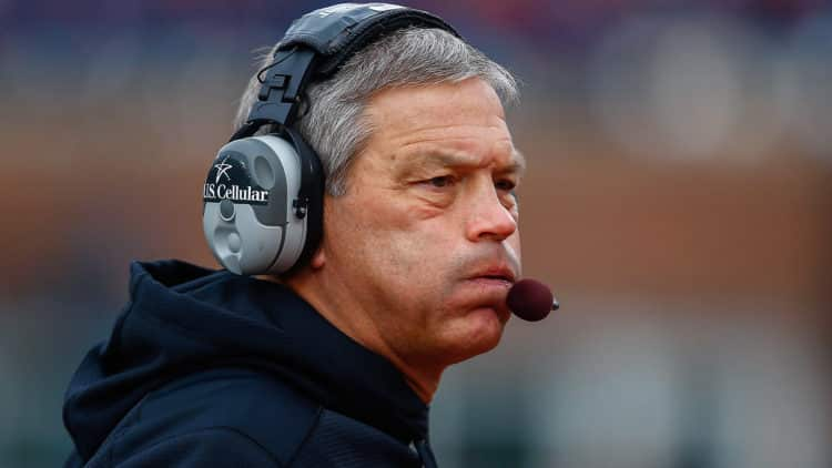 kirk ferentz iowa hawkeyes tri Los 20 entrenadores de la NFL más ricos de todos los tiempos (actualizado para 2020)