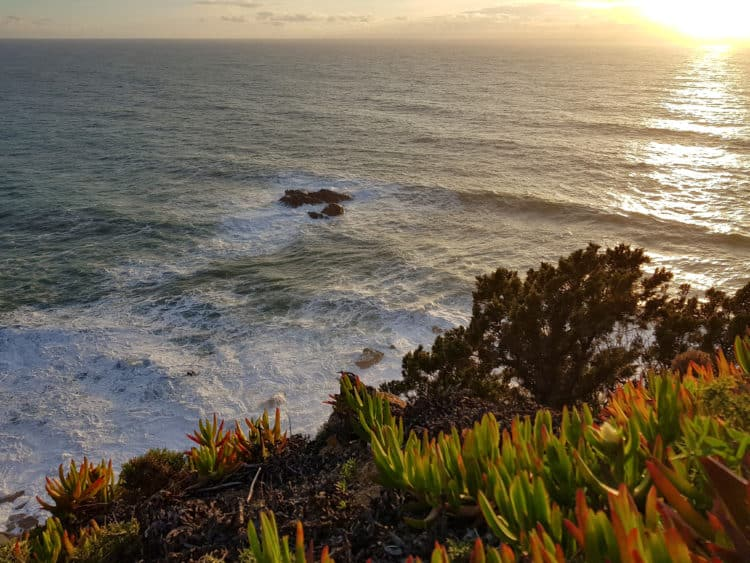 Las cascadas de arena de Cabo