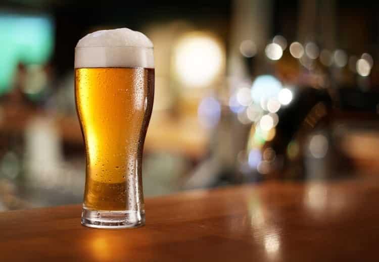 Cerveza en Desert Bar