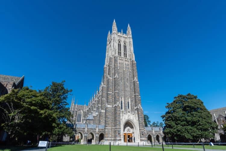 Universidad de Duke y Capilla de la Universidad de Duke