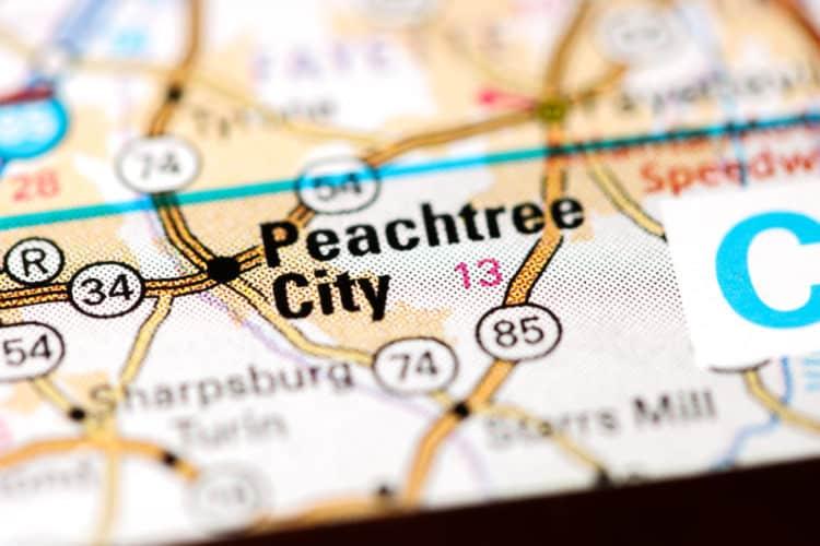 Ciudad de Peachtree, Georgia