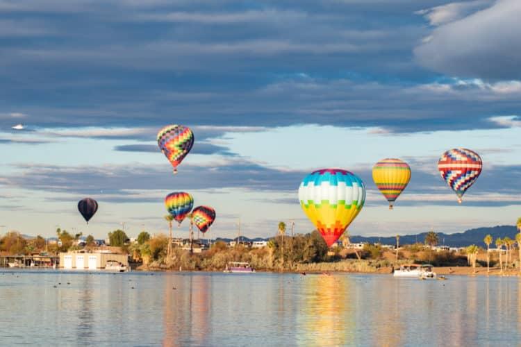 Festival y feria de globos de Lake Havasu