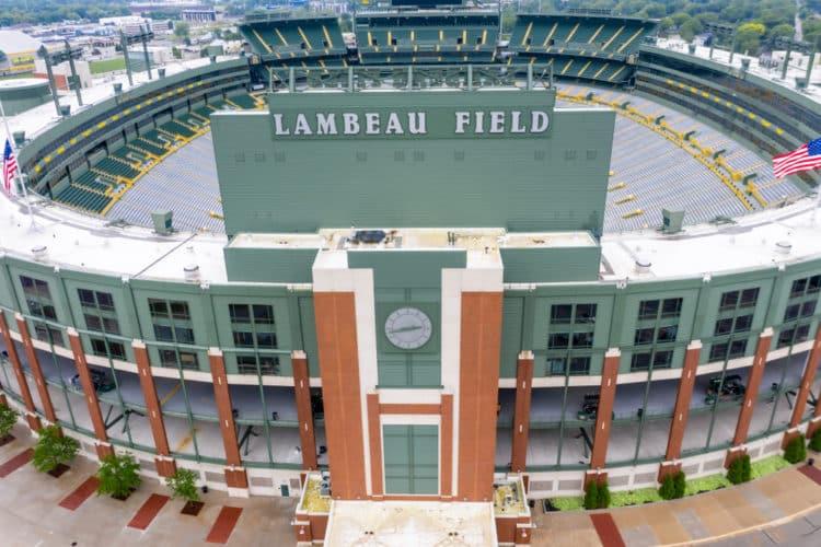 Salón de la fama de los Packers de Lambeau Field / Green Bay