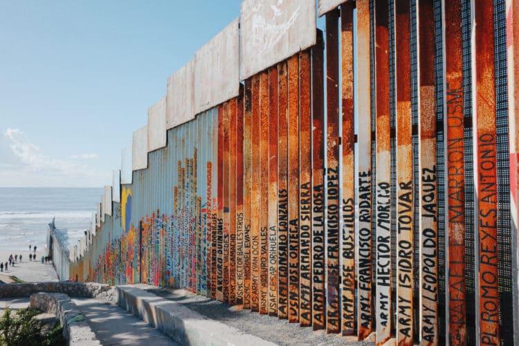 Muro fronterizo de Playas de Tijuana
