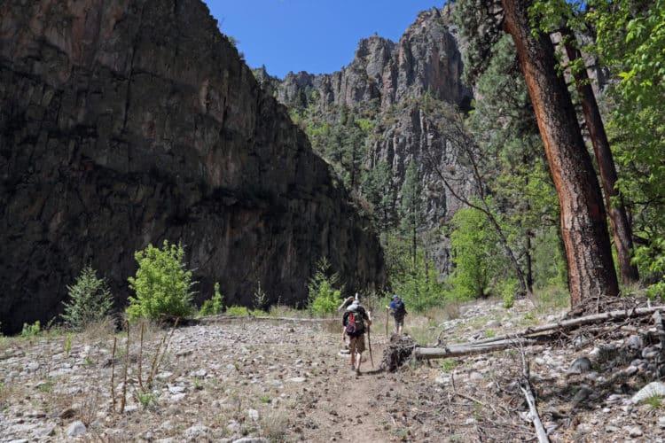 Sendero del cañón del Burro muerto