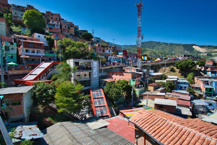 Comuna 13 Electric Stairs