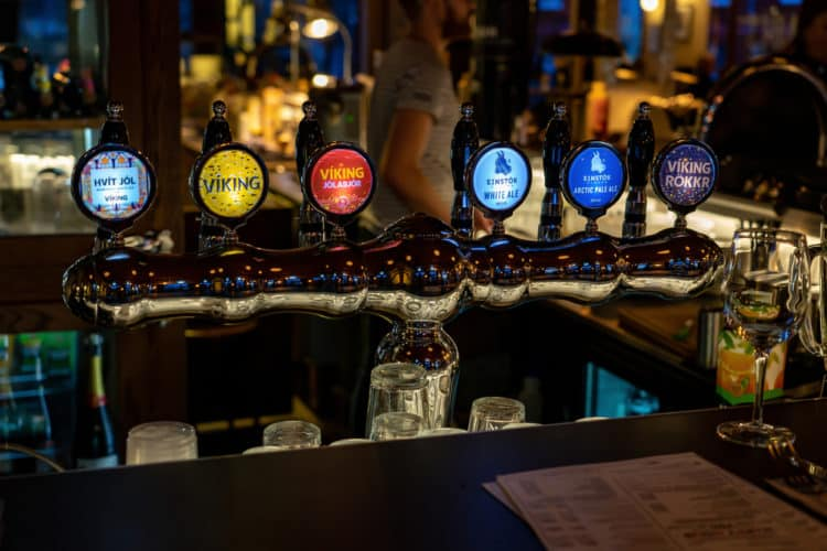 Recorrido por bares en Reikiavik