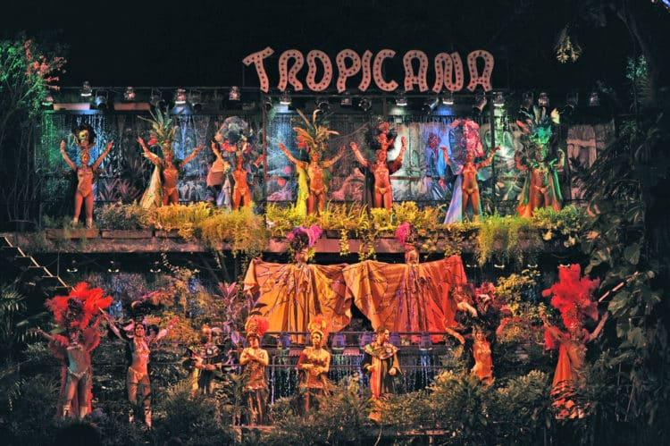 Espectáculo de discoteca Tropicana