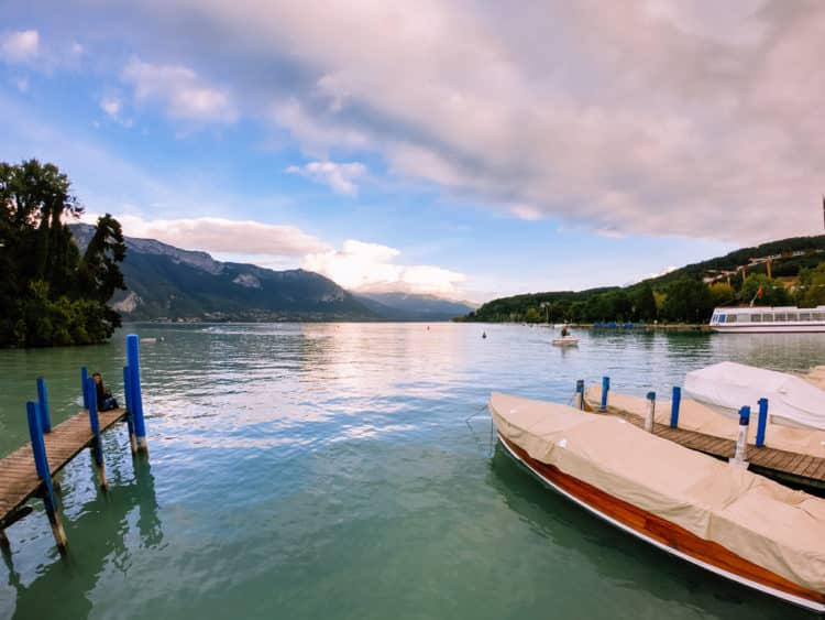 Marina del lago Blue Ridge