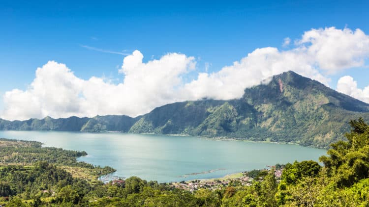 Monte Batur en Kintamani