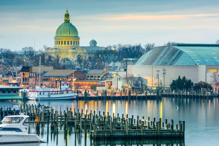shutterstock 269956391 e1598359652711 Los 20 lugares más seguros para vivir en Maryland