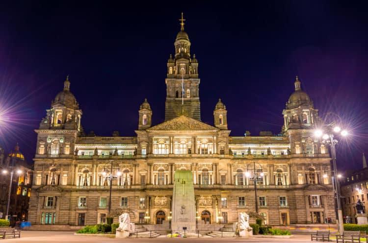 Cámaras de la ciudad de Glasgow
