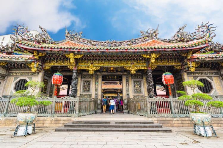 Templo icónico de Longshan