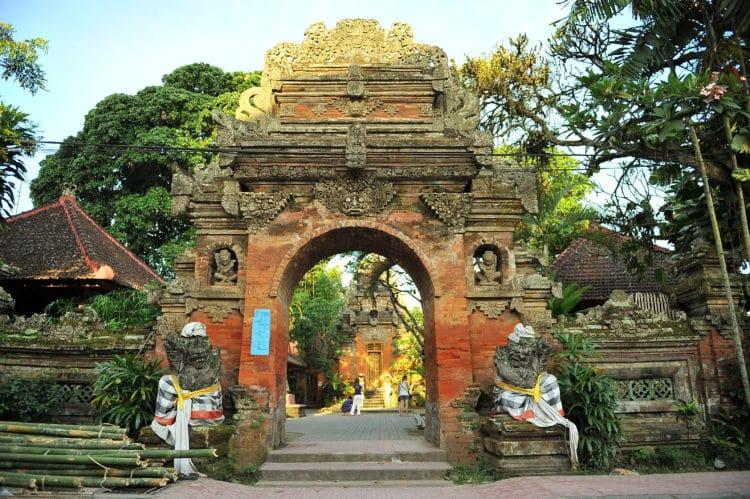 Palacios en Ubud