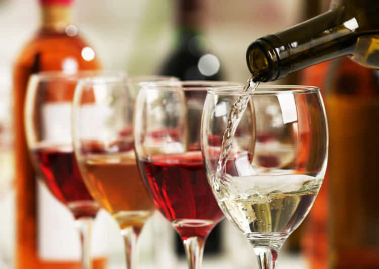 Comida y vino Aurum