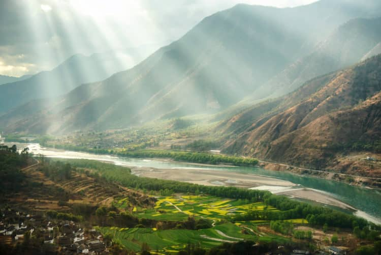 Provincia de Qinghai, China